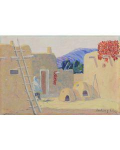 Albert Looking Elk (a.k.a. Albert Martinez) (1888-1941) - Taos Pueblo (PDC1824)