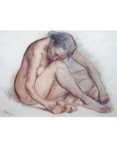 SOLD Francisco Zuniga (1912-1998) - Desnudo Recluiado
