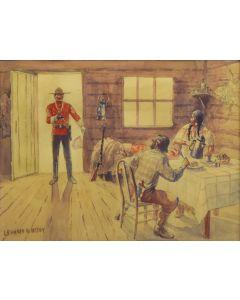 Leonard Reedy (1899-1956) - Untitled, Watercolor