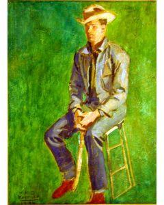SOLD W.H.D. Koerner (1878-1938) - Cowboy