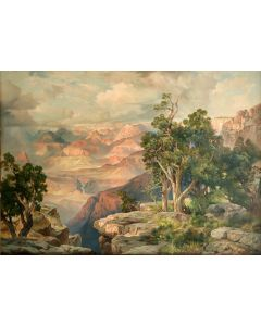 SOLD Thomas Moran (1873-1926) - Grand Canyon
