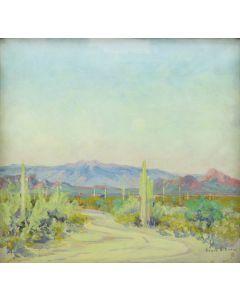 Jessie Benton Steese Evans (1866-1954) - Camelback Mountain (PDC90189-0121-002)