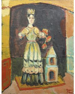 Agnes Sims (1910-1990) - Santa Rita
