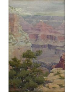 Louis Benton Akin (1868-1913) - Grand Canyon 1904