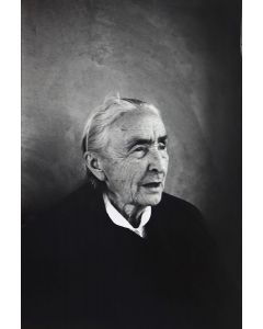 Dan Budnik (1933-2020) - Georgia O'Keeffe, Ghost Ranch, Abiquiu, New Mexico March 1975 (PDC90211C-0121-003)