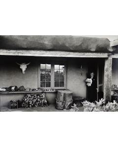 Dan Budnik (1933-2020) - Georgia O'Keeffe Ghost Ranch Patio Portal, New Mexico 1975 (PDC90211C-0121-012)