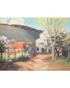 Carlos Vierra (1876-1937) - La Cienega, Santa Fe (PDC90216C-0621-001)