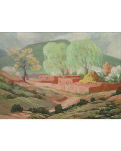 Carlos Vierra (1876-1937) - Spring, Santa Fe (PDC90216C-0621-002)