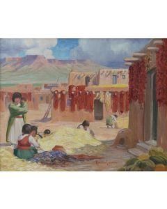 Carlos Vierra (1876-1937) - Indian Harvest