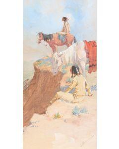 SOLD O.E. Berninghaus (1874-1952) - Zuni Land