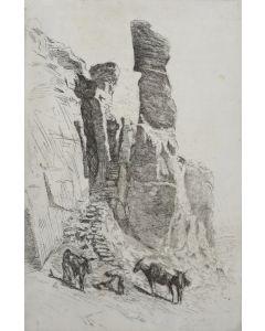 Edward Borein (1872-1945) - Breakneck Trail to Walpi
