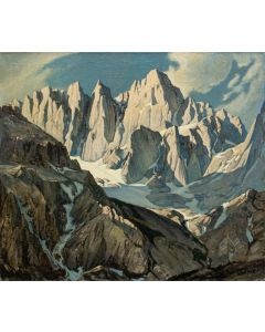 Robert Clunie (1895-1984) - Mt. Whitney Morning, Inyo Co. California (PDC90352A-0720-001)