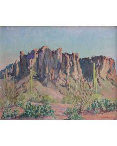SOLD Jessi Benton Steese evans (1866-1954) - Landscape