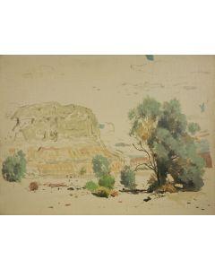 SOLD James Swinnerton (1875-1974) - Box Canyon
