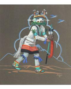 SOLD Raymond Naha (1933-1974) - Antelope Dancer