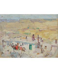SOLD Leon Gaspard (1882-1964) - Walpi 1917