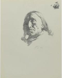 Ralph Brownell McGrew (1916-1994) - Native Portrait (PDC90536-1220-027)