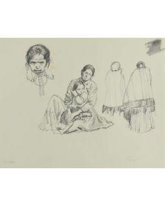 Ralph Brownell McGrew (1916-1994) - Number SK. 300, Navajo Figures (PDC90536-1220-036)