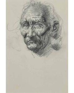 Ralph Brownell McGrew (1916-1994) - Drawing of Tuwahoyima (Hopi) (PDC90536-1220-057)