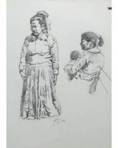 Ralph Brownell McGrew (1916-1994) - Native Women (PDC90536-1220-093)