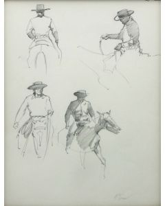 Ralph Brownell McGrew (1916-1994) - Four Horsemen (PDC90536-1220-096)
