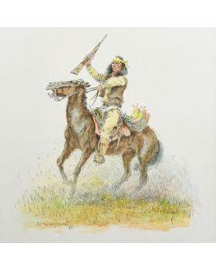 Olaf Carl Wieghorst (1899-1988) - The Apache