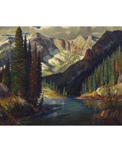 Ben Turner (1912-1966) - Mountain River