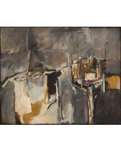 Madeleine Gekiere (1919-2014) - Untitled Abstract (PDC90623A-0321-009)