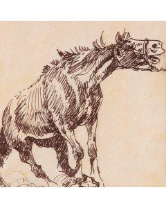 SOLD Edward Borein (1872-1945) - Crockhead