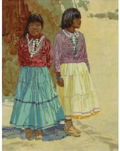 Ross Stefan (1934-1999) - Navajo Girls (PDC90740A-0120-001)