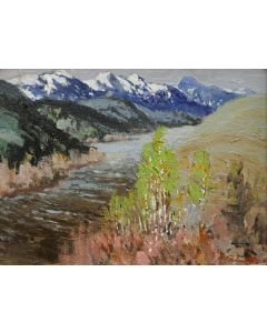 SOLD Fremont Ellis (1897-1985) - Madison River Montana