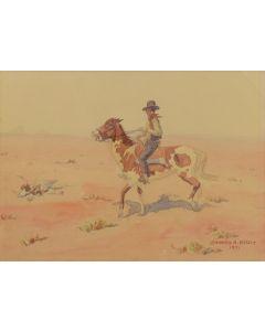 Leonard Reedy (1899-1956) - Drought on the Range