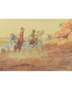 Leonard Reedy (1899-1956) - Ambush
