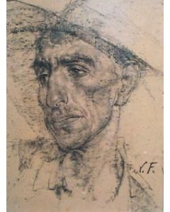 SOLD Nicolai Fechin (1881-1955) - Mexican in a Cowboy Hat
