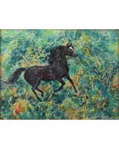 Ila Mae McAfee (1897-1996) - Galloping Green