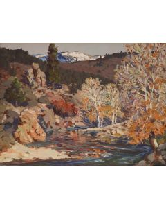 SOLD Fremont Ellis (1897-1985) - Autumn on the Pecos