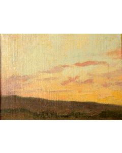 SOLD E. I. Couse (1866-1936) - Taos Landscape