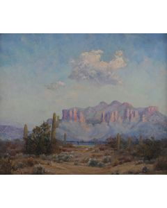 SOLD Leola Hall Coggins (1881-1930) - Superstition Mountains, Apache Junction, AZ