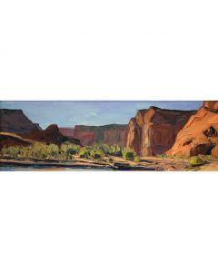 SOLD Louisa McElwain (1953-2013) - Cliffs at Canyon Junction