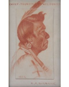 SOLD E. A. Burbank (1858-1949)- Chief Joseph Nez Perces