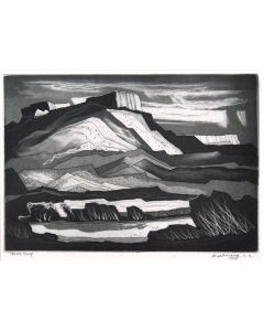 SOLD Doel Reed (1895-1985) - The Gorge at Pilar