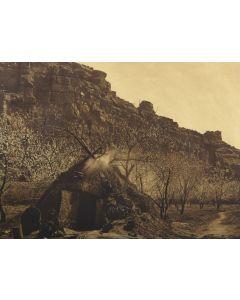 Edward S. Curtis (1868-1952) - Home of the Havasupai