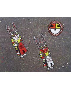 Hopi Kachinas, by Bear (M91051-0720-005)