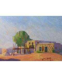 SOLD Jack Van Ryder (1899-1967) - Santa Clara Pueblo