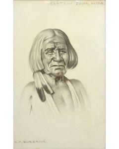 E.A. Burbank (1858-1949) - Captain John, Hupa