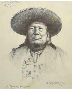 E.A. Burbank (1858-1949) - Chief Moses, Moses