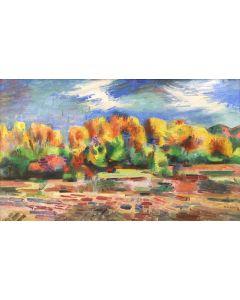 SOLD Andrew DASBURG (1887-1979) - Autumn Landscape