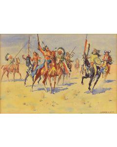 Leonard H. Reedy (1899-1956) - On the Warpath