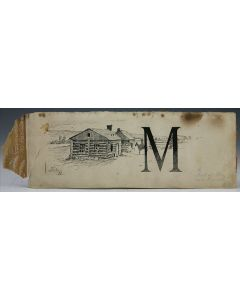 SOLD Frederic Remington (1861-1909) - Home Ranch, Ranch Book - Initial M