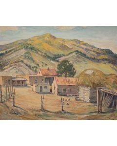 SOLD Joseph Roy Willis (1876-1960) - Arroyo Seco Near Taos